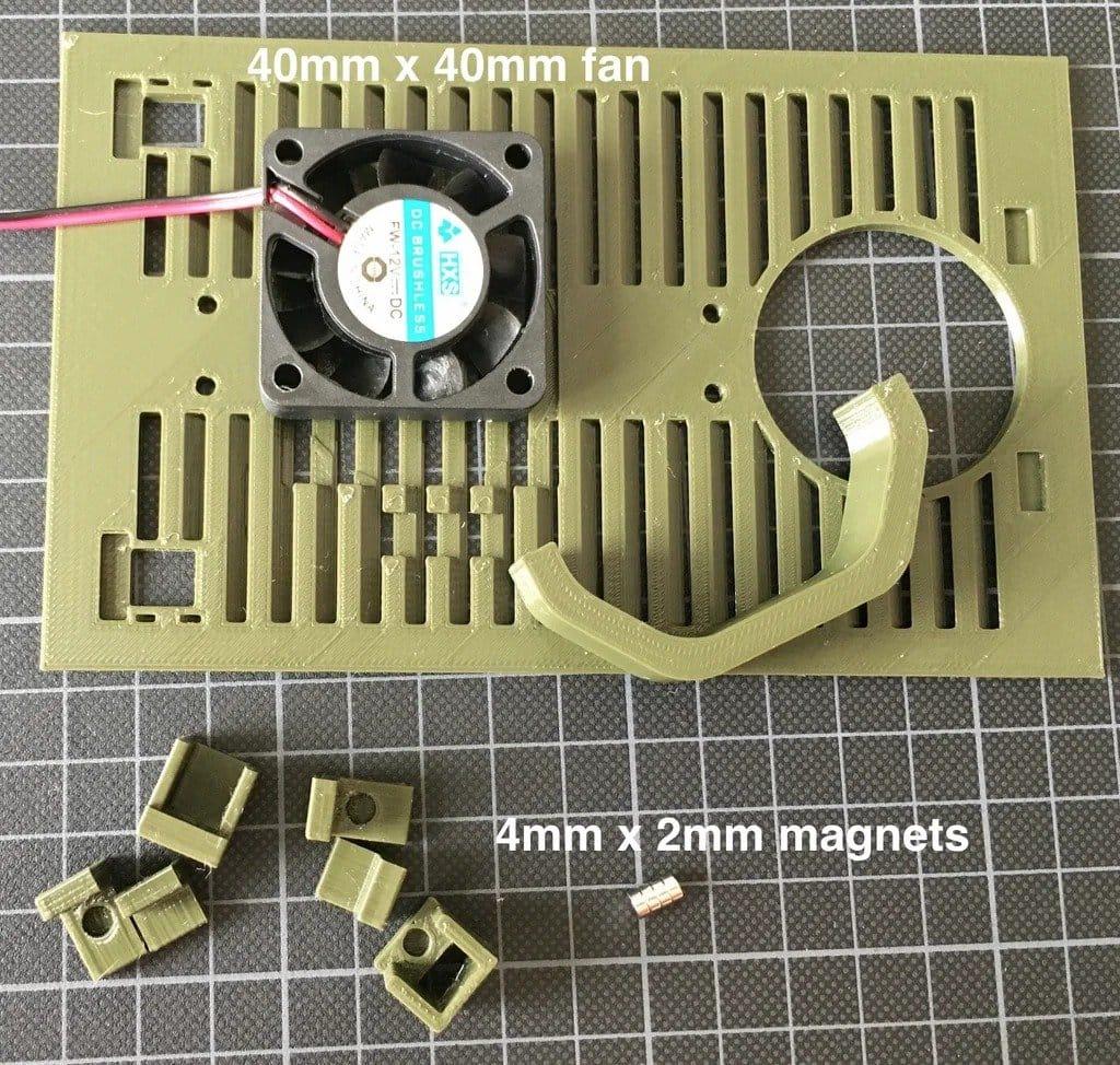 3D-печатный марсоход с камерой и возможность установки навесного оборудования