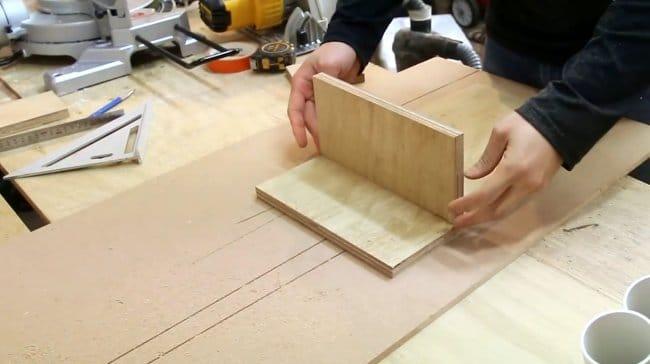 Настенный органайзер для ручного инструмента