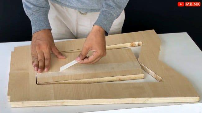 Как сделать складной табурет + чертежи