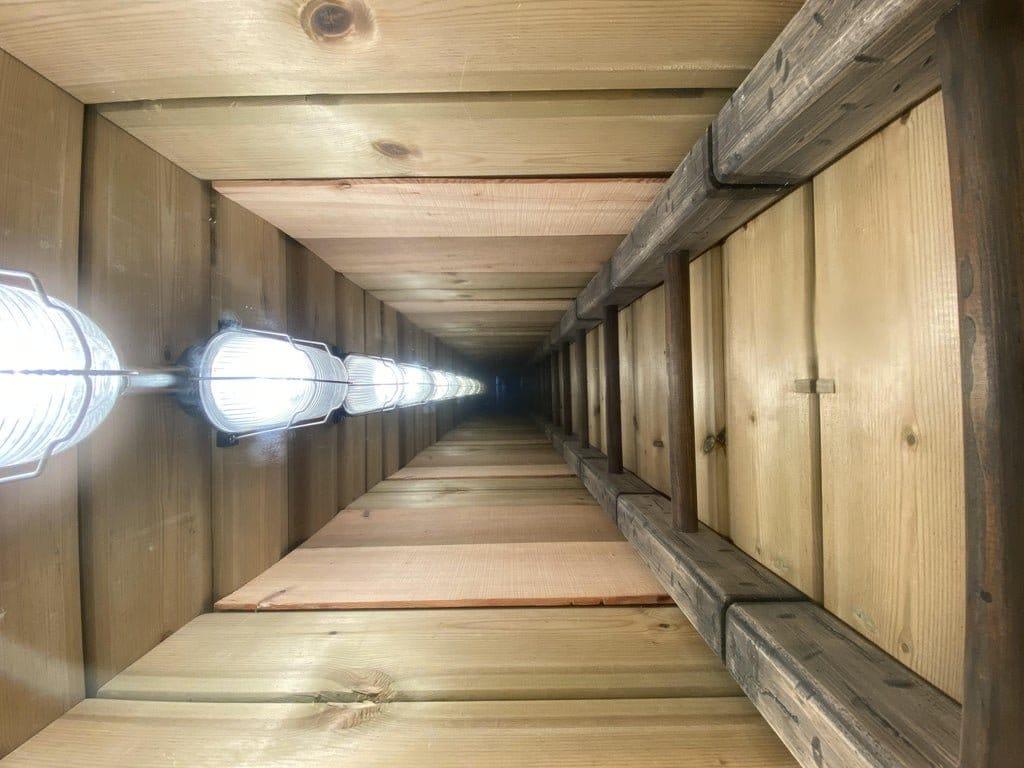 Журнальный столик «Туннель в бесконечности»!