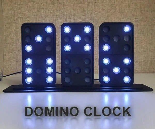 Часы «Домино» своими руками
