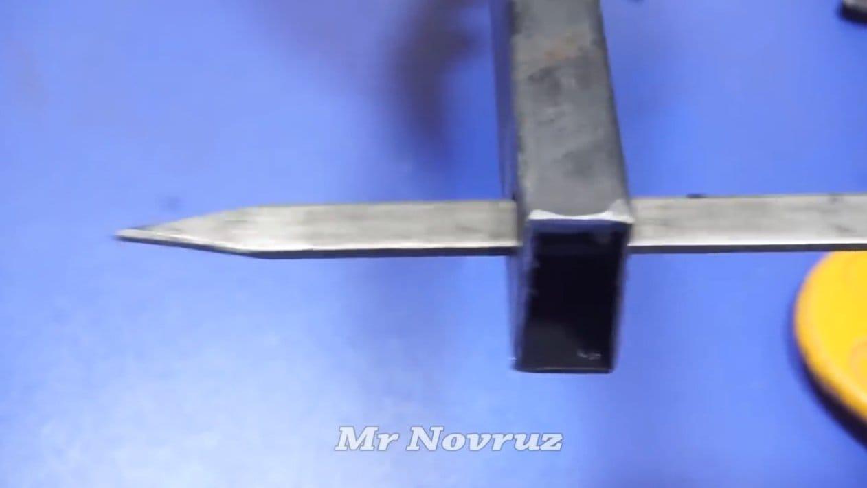 Простой моторизированный гриль/мангал