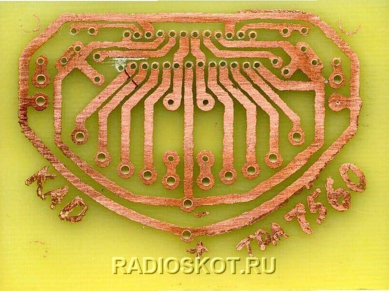 Квадро-усилитель на микросхеме PAL007