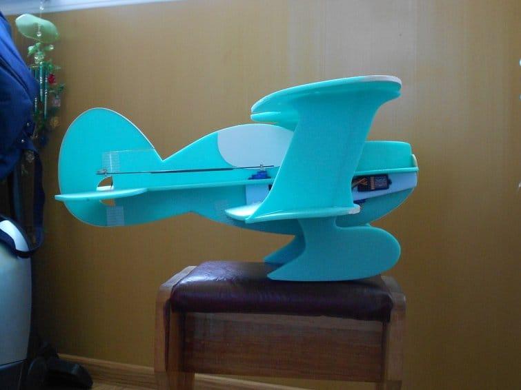 Авиамодель на радиоуправлении «Мультик»