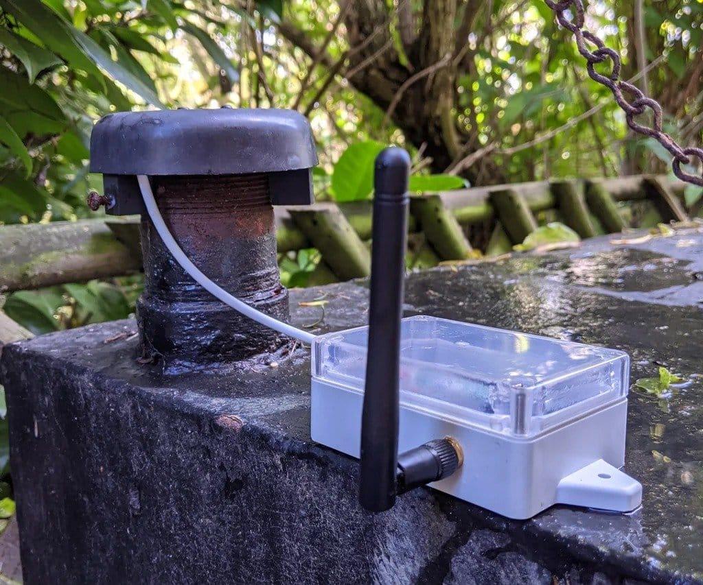 Контроль уровня жидкости в топливном баке отопительного котла