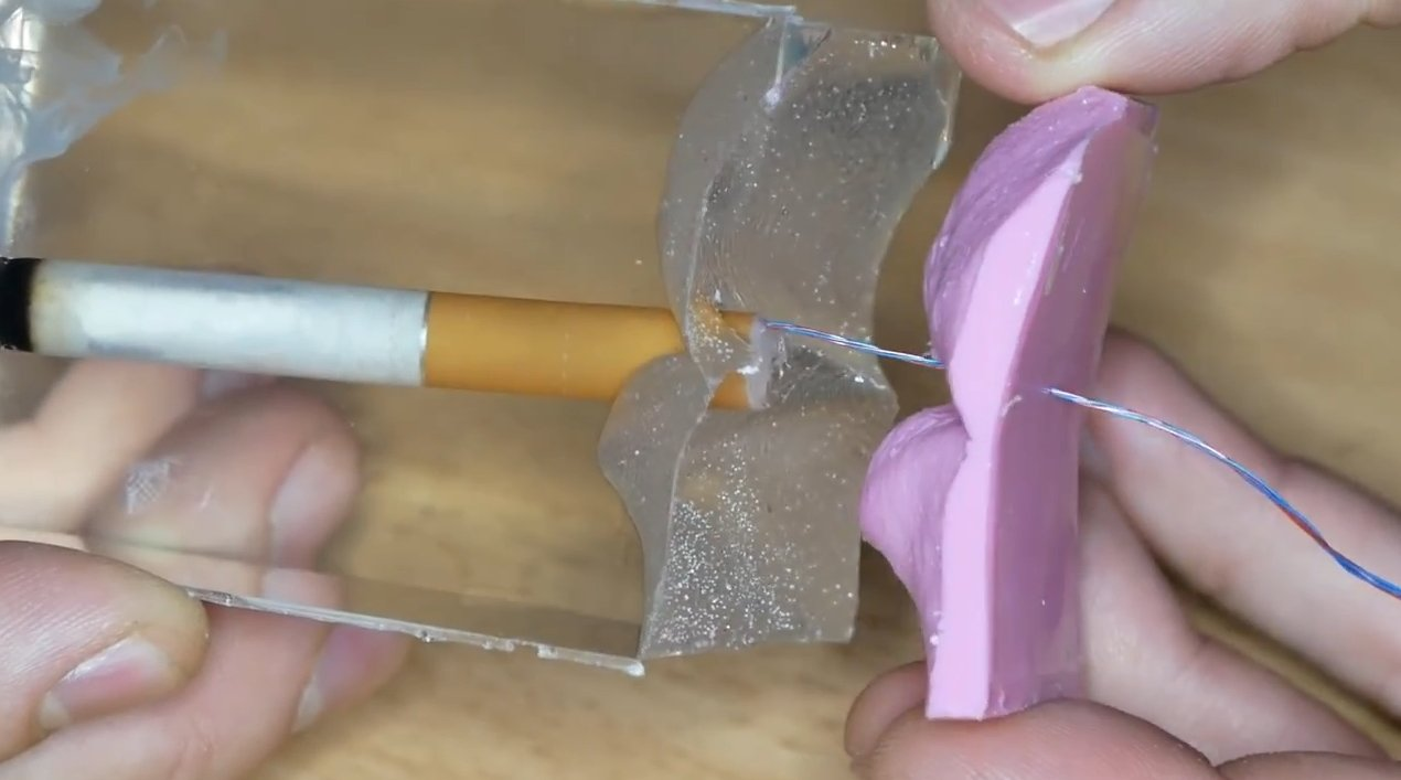 Самоделка в подарок для ценителей сигаретки