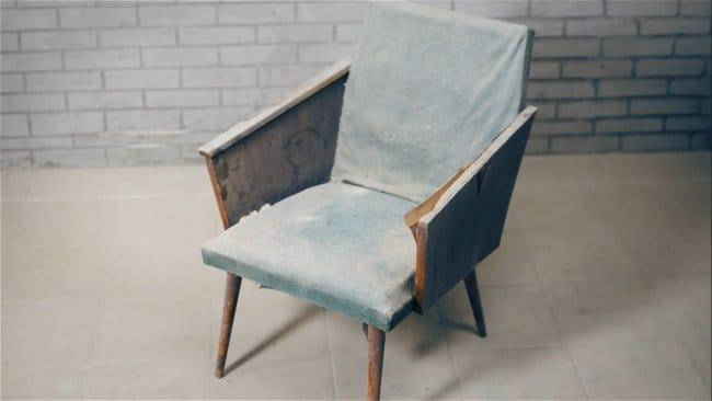 Реставрация стула с применением эпоксидной смолы