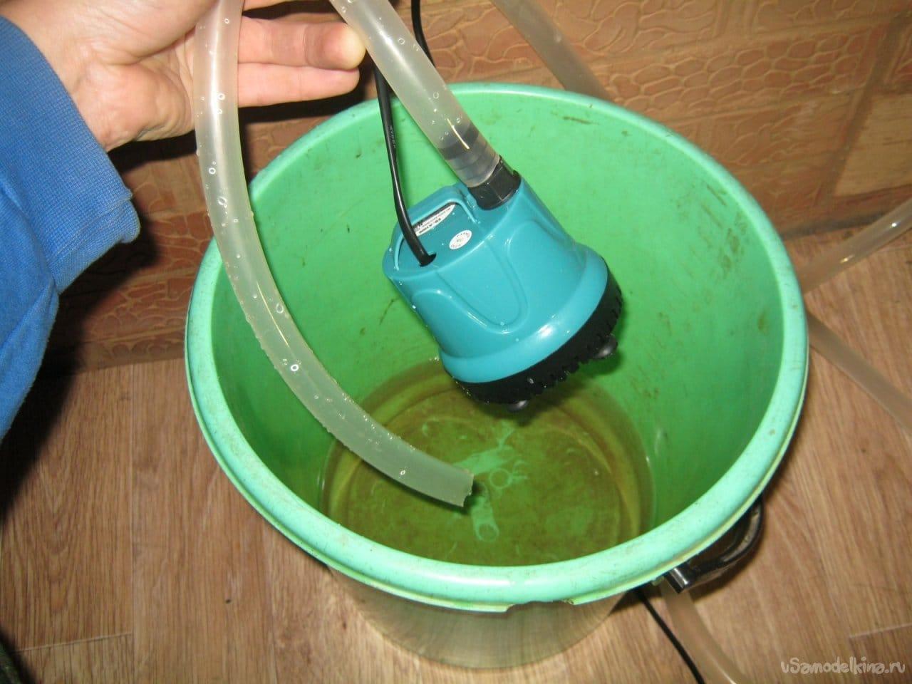 Водяной бак для печного теплообменника