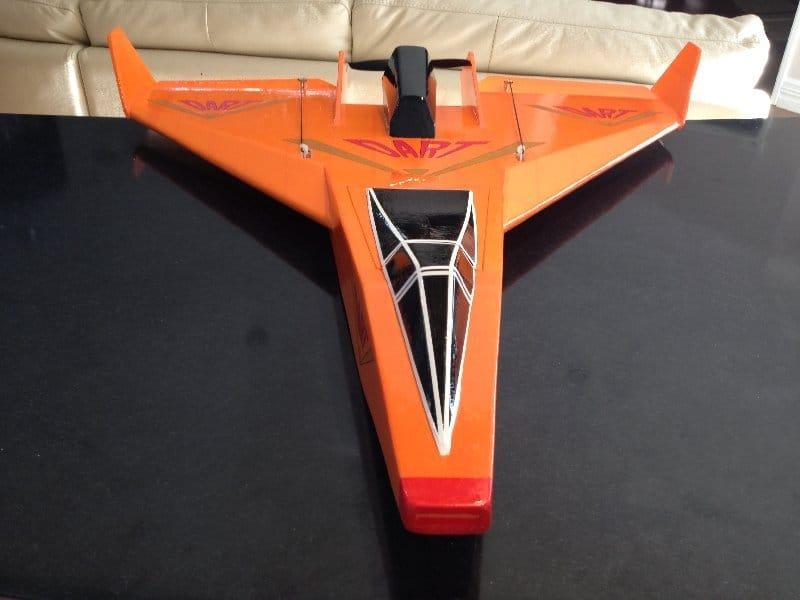 Авиамодели «Vixen – Лиса» и «Vixen Dart» или «V- Dart»