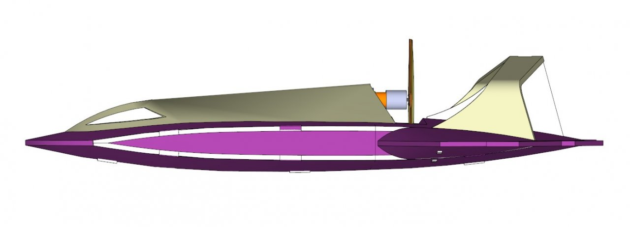 Постройка авиамодели «Dart Vader» и её модификации