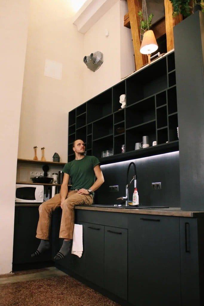 Дешевая кухня из фанеры + несколько интересных идей