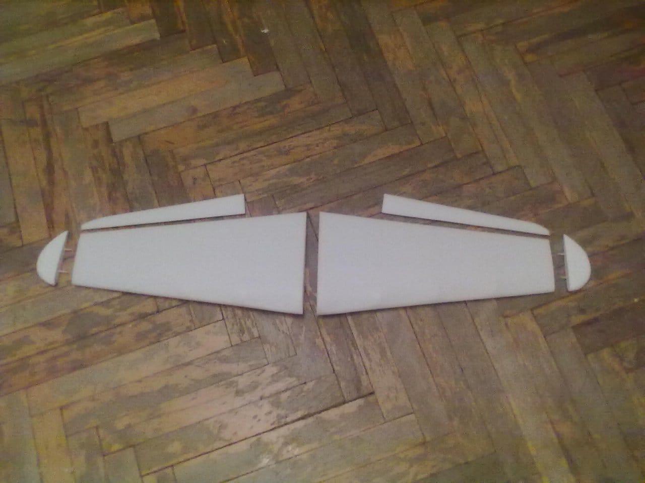 Постройка авиамодели самолёта И-16