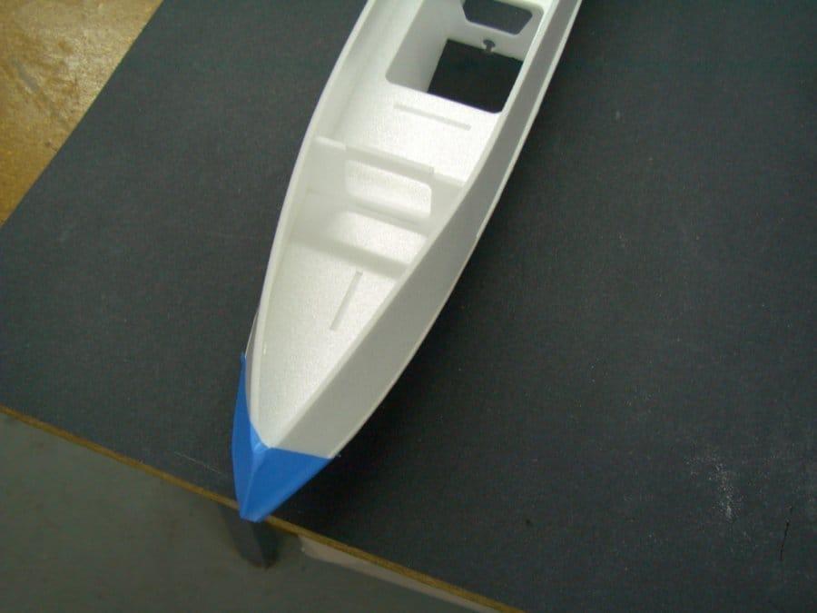 Изготовление экзотической авиамодели 4Q