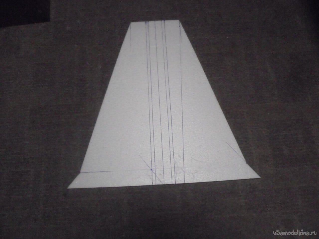 Постройка модели лёгкого истребителя «Атас» на импеллере