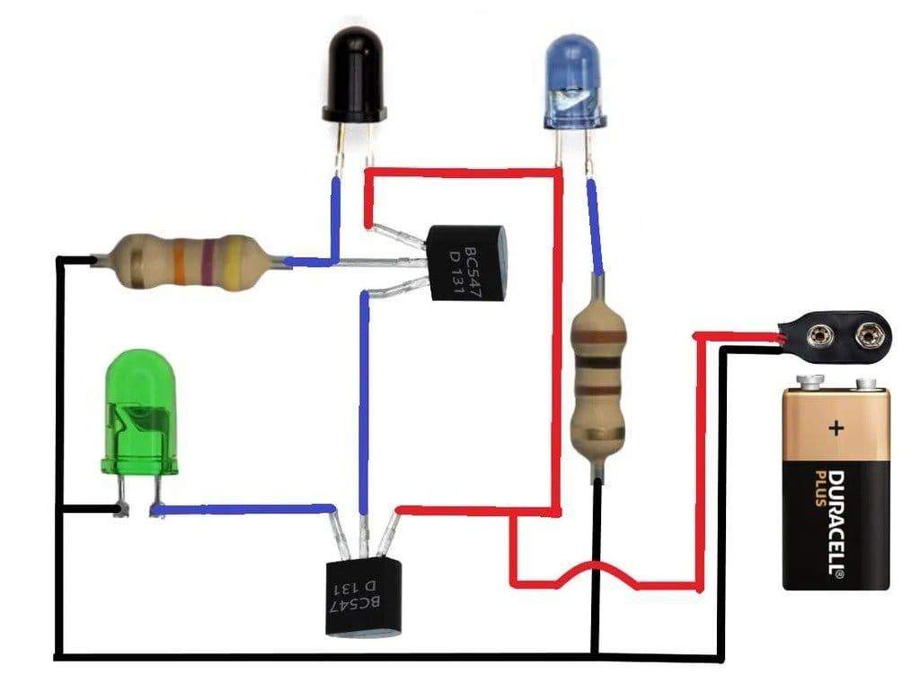 Как сделать инфракрасный датчик приближения