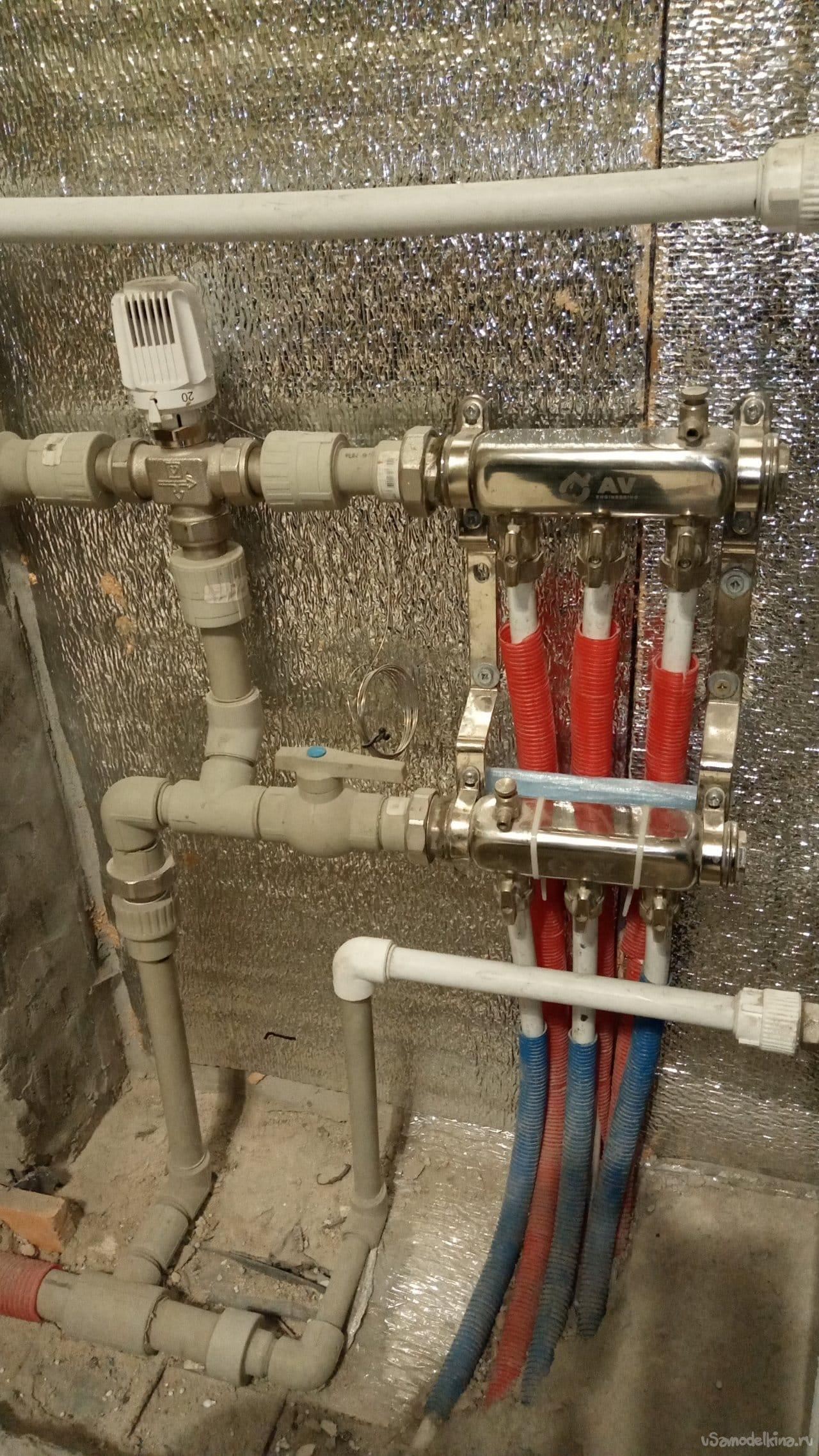 Система отопления частного дома своими руками