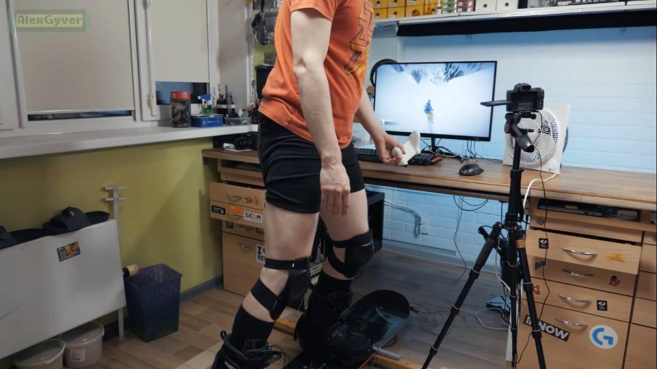Симулятор сноуборда своими руками
