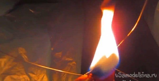 Небесная свеча или китайский фонарик своими руками