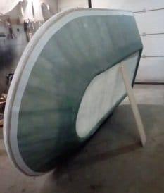 Катер на воздушной подушке из фанеры