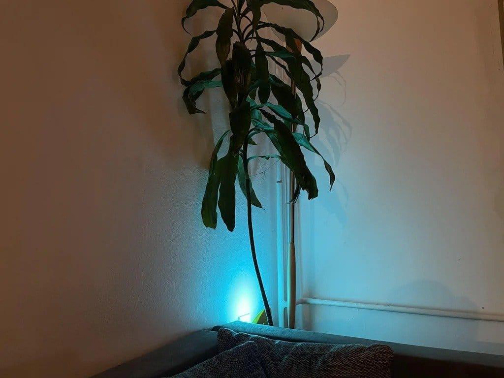 Светодиодный светильник с управлением по сети