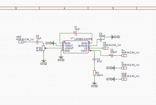 Усилитель звука с LM386