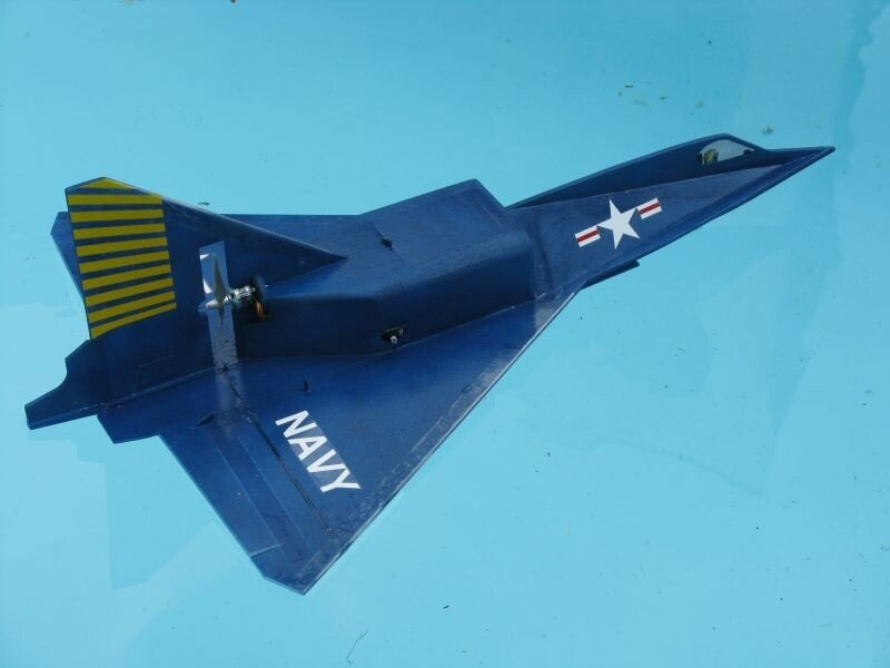 Модель самолёта Convair XF2Y «Sea Dart» - Морской дротик