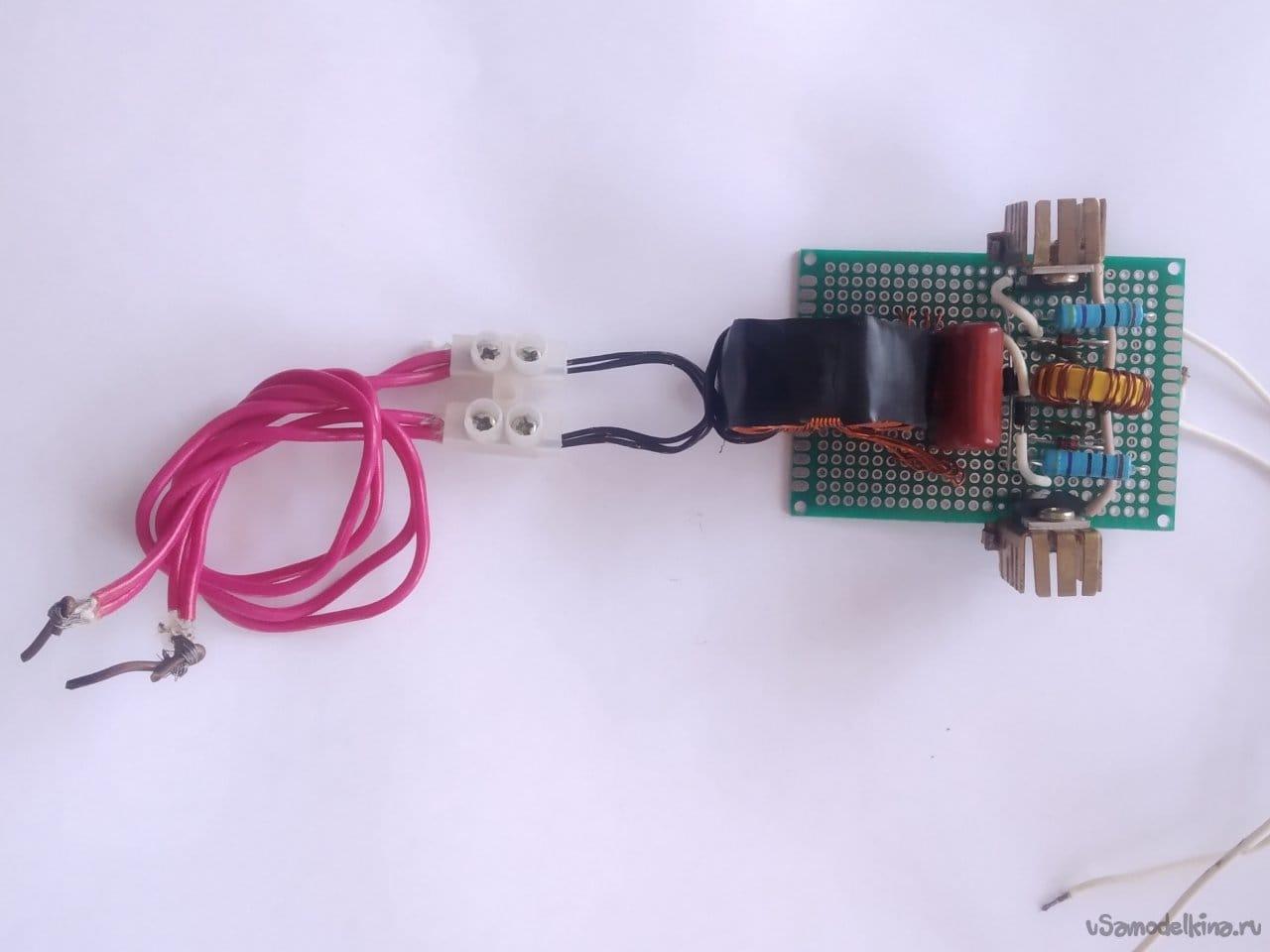 Мини аппарат для точечной сварки с напряжением питания 12V