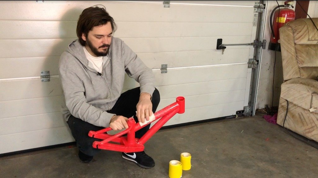 Как напечатать велосипед