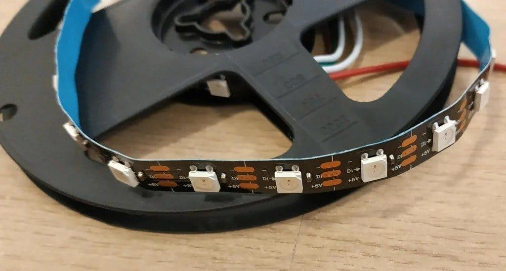 Волоконно-оптический светодиодный светильник для декора