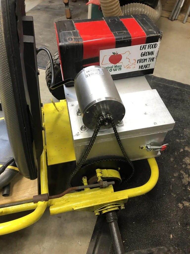 Картинг на электрической тяге