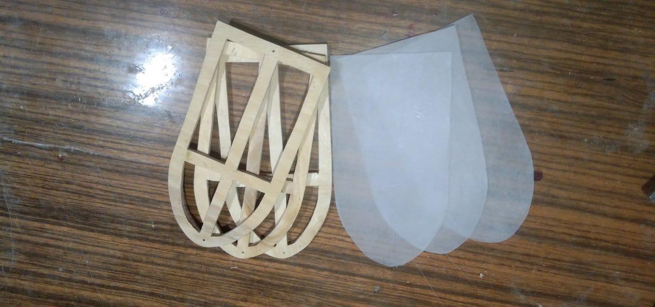 Декоративная ветряная мельница