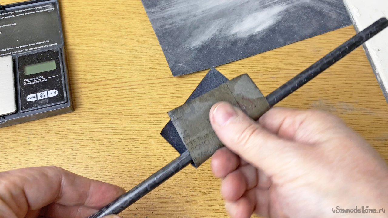 Как сделать трубку из углеродного волокна - легкий для повторения и недорогой способ.
