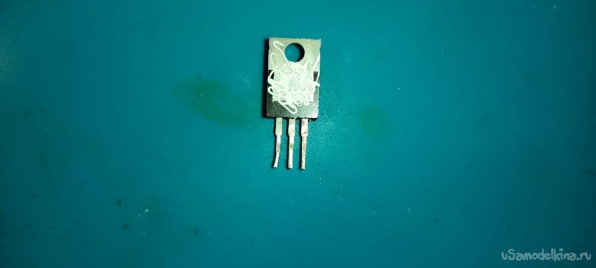 USB электронная нагрузка на 3х транзисторах