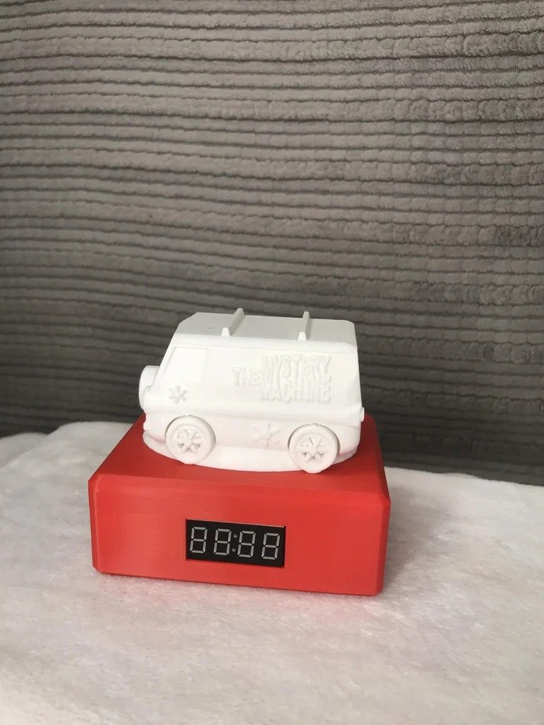 Часы для детей с цветовой индикацией времени