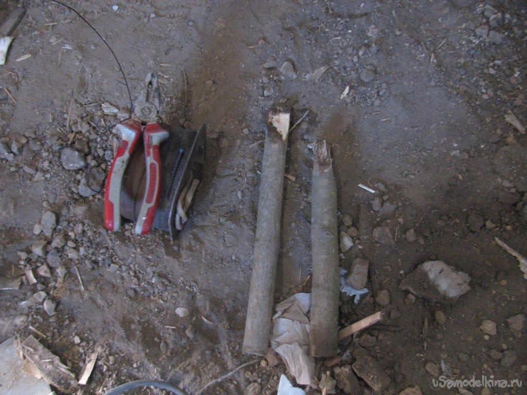 Ремонт деревенский (стяжка, обшивка стен, линолеум на кривом полу)