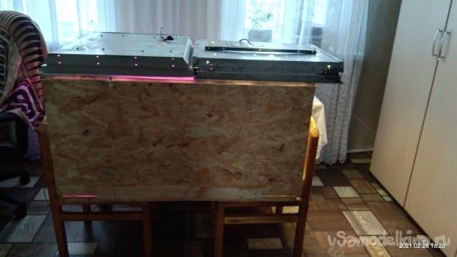 Гроубокс (тёплый ящик для проращивания и подсветки растений)