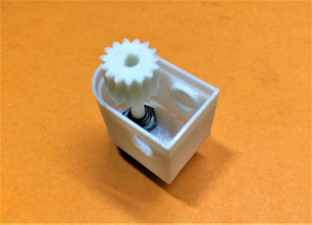 Как сделать многооборотный потенциометр из однооборотного