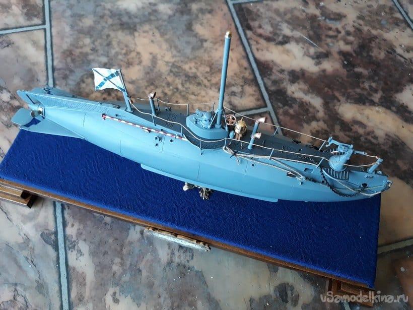 Модель подводной лодки  «СОМЪ». Приказа на всплытие не будет
