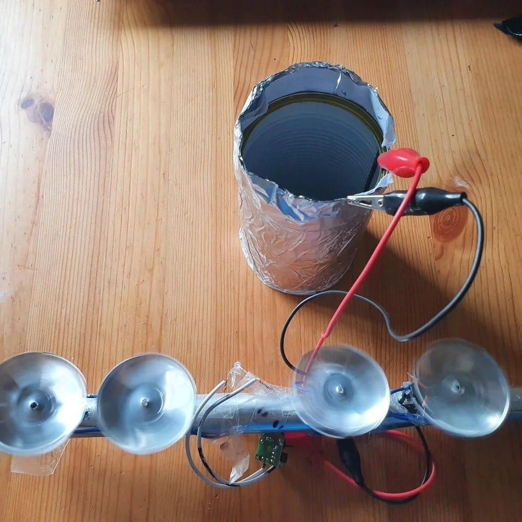 Самодельный аккумулятор из консервной банки и примеры его практического применения