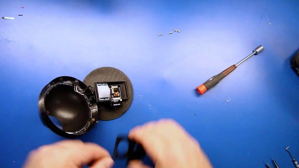 Камера с датчиком движения и передачей снимков на Discord