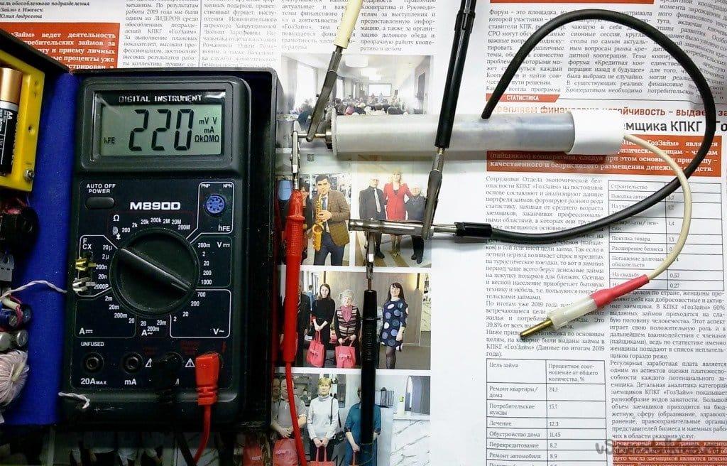 Измеряем высокое напряжение мультиметром
