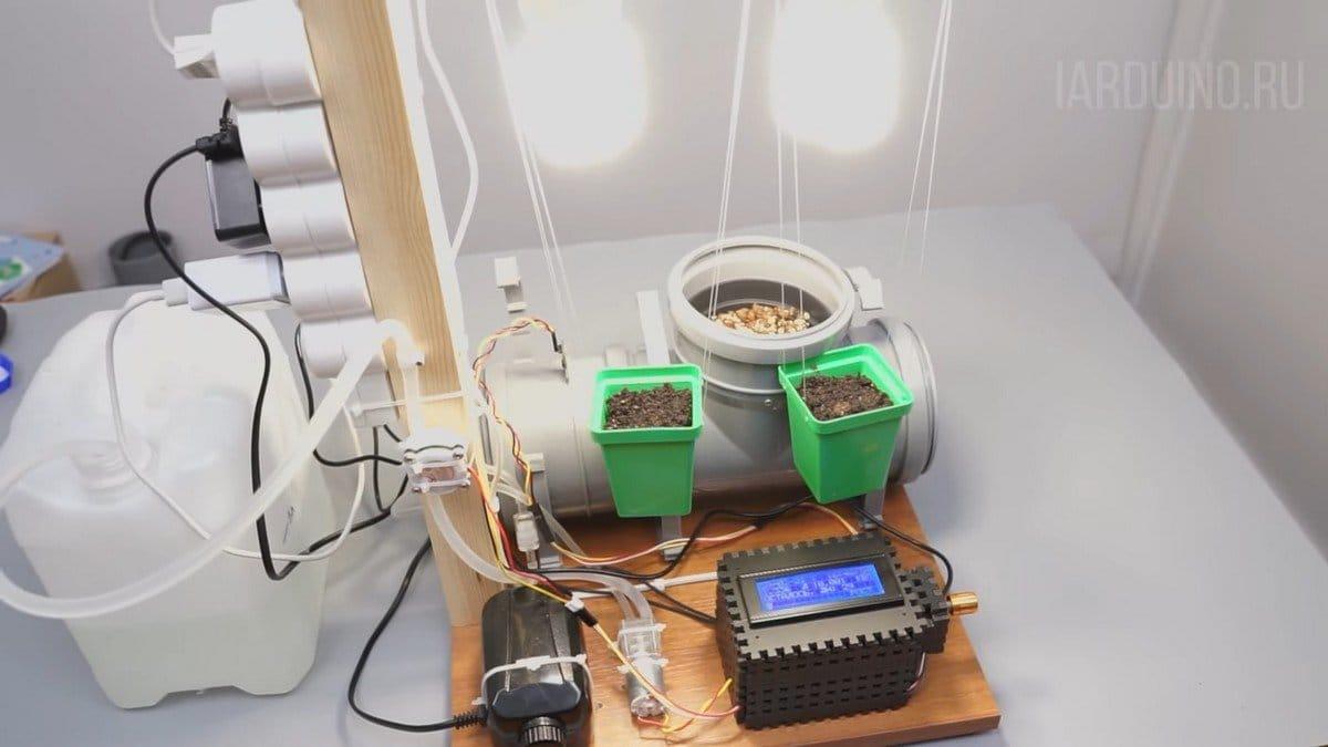Гидропоника с автоматическим управлением на Arduinо (часть 2)