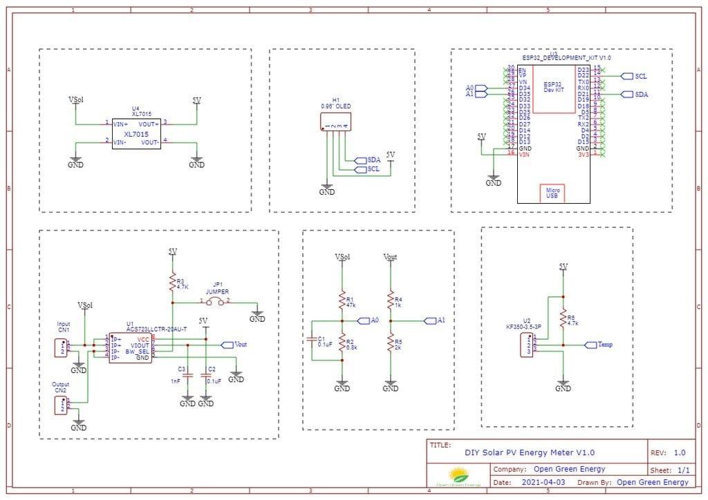 Система контроля параметров солнечных панелей