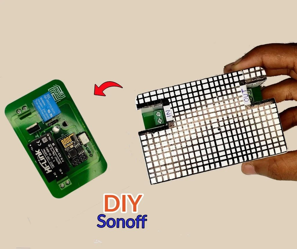 Беспроводное устройство для управлением «умным домом» - аналог Sonoff