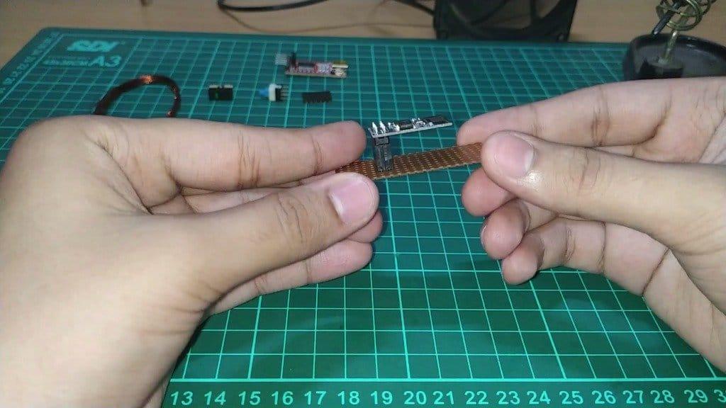 Адаптер для программирования модуля Wi-Fi ESP-01
