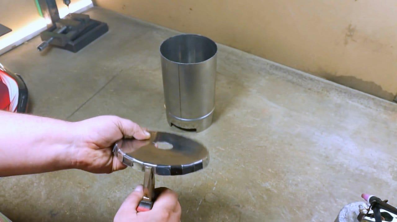 Делаем переносную ракетную печь