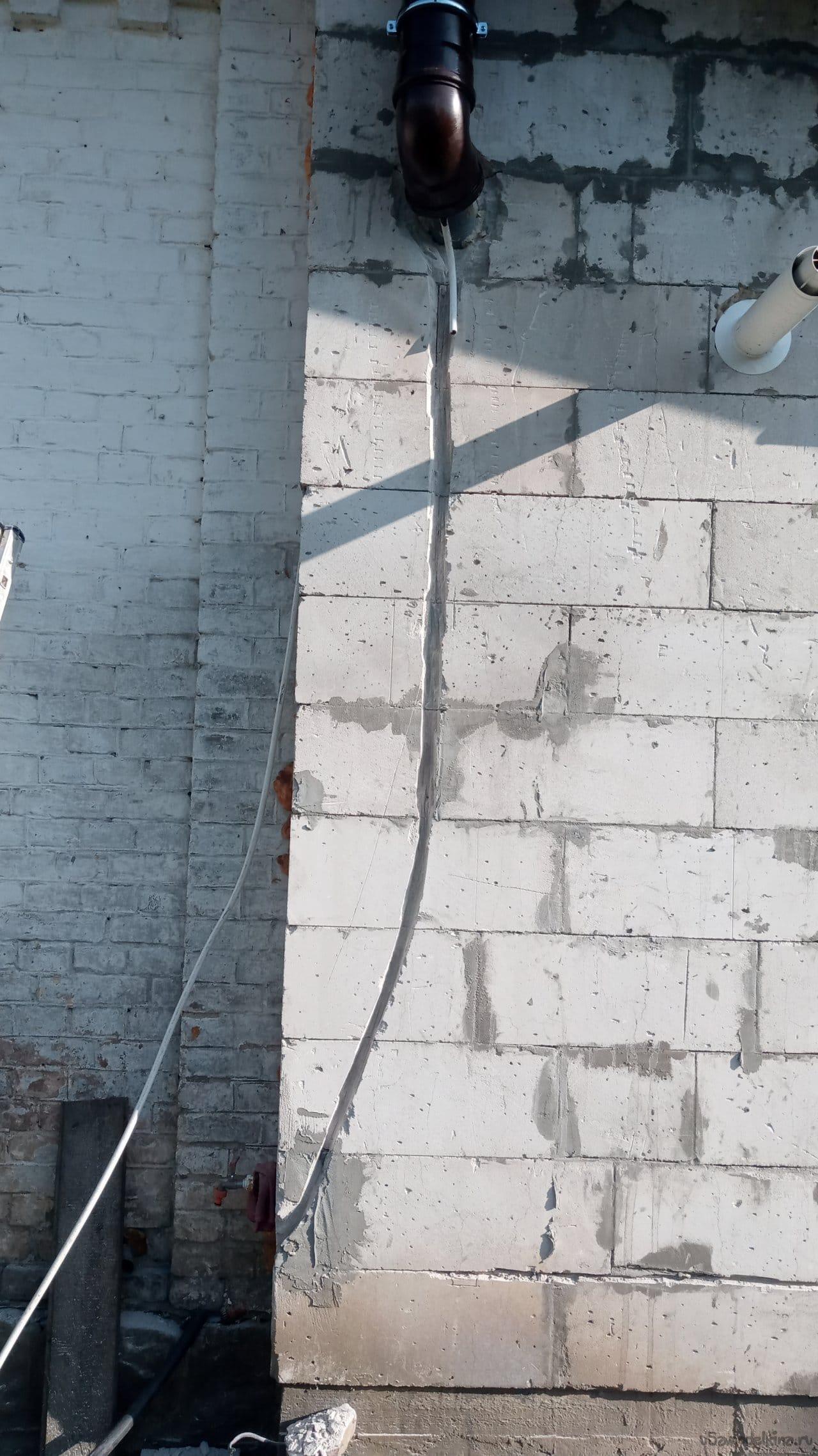 Вентиляция для частного дома из канализационных труб