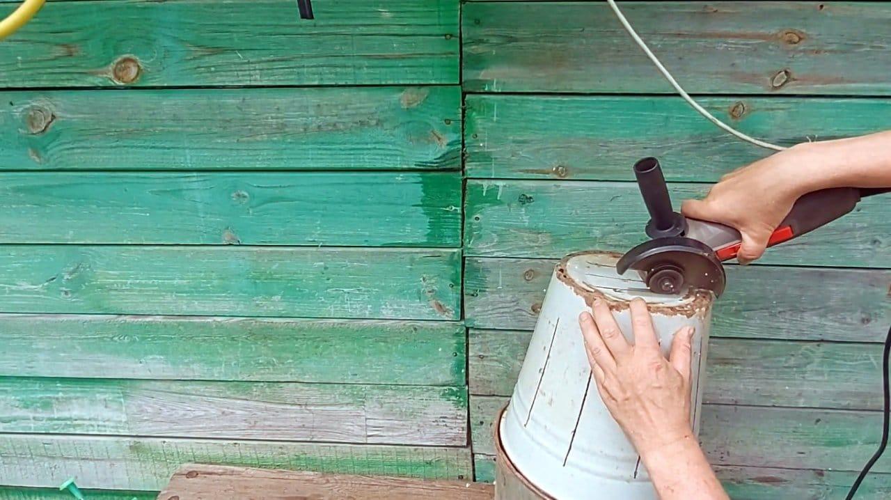 Простейшая печь для теплицы своими руками (без сварки)