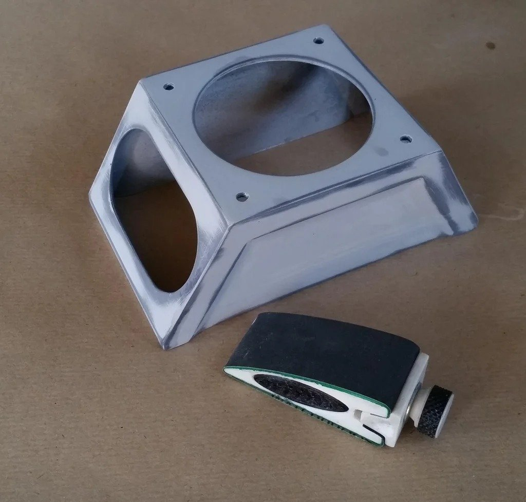 Портативный Bluetooth-динамик с корпусом напечатанным на 3D-принтере