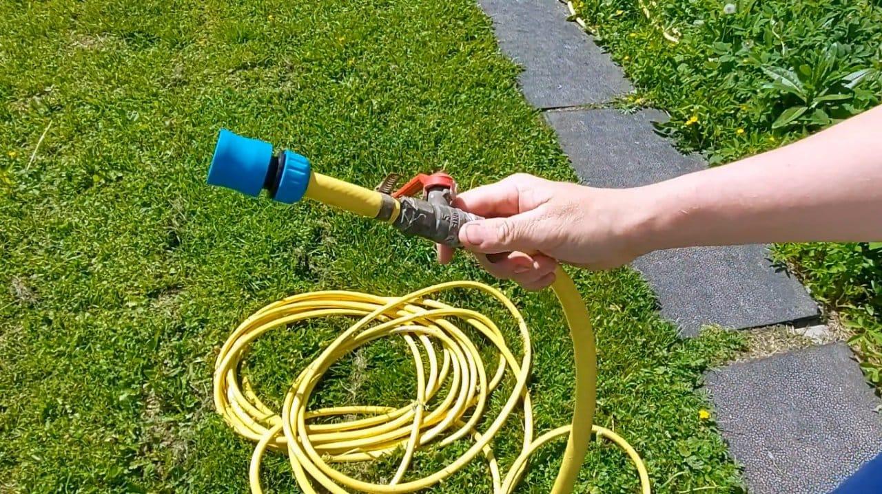 Автоматизируем набор воды в летний душ